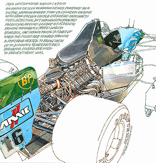 1990 Leyton House March CG901B